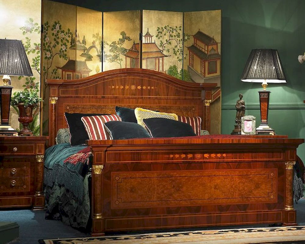 Bedroom Sets Traditional Style infinity furniture europian style bedroom set orpheus inop-881set
