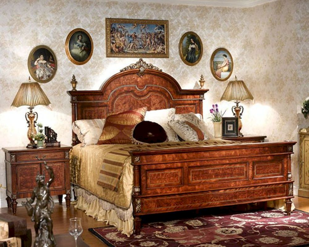 Infinity Furniture Imperatorial Bedroom Set Louis Xvi