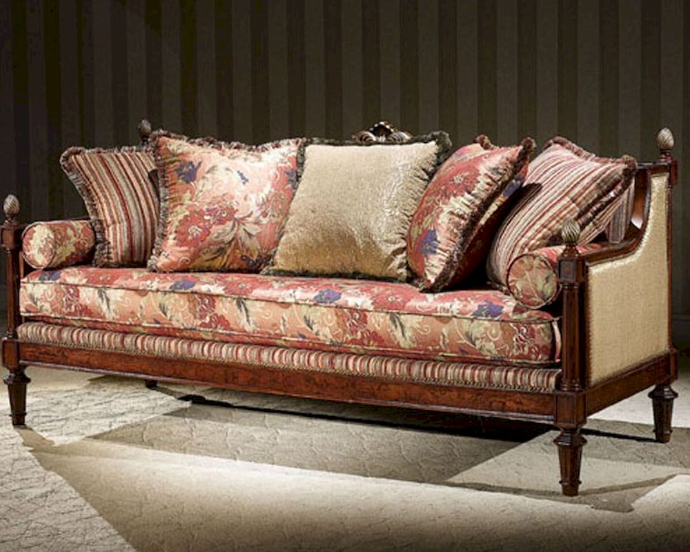 infinity furniture italian style sofa louis xvi inlv691 3