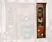 Infinity Furniture One-Door Bookcase Louis XVI INLV-551-2