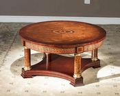 Infinity Furniture Round Coffee Table Orpheus INOP-634