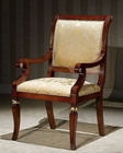 Infinity Greek Style Arm Chair in Gold Orpheus INOP-722-1 (Set of 2)