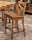 "Intercon 30"" Slat Back Bar Stool Cambridge INCBBSN735-30 (Set of 2)"