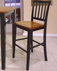 "Intercon 30""Slat Back Barstool Arlington INARBS180K30(Set of 2)"