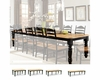 Intercon 30in High Legs Dining Table Hillside Village INHV-TURN-TAB