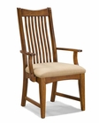 Intercon Arm Dining Chair Pasadena Revival INPR-1050CA-MBN (Set of 2)