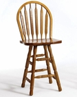 Intercon Arrow Back Pub Chair Classic Oak INCOBS26324 (Set of 2)