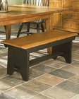 Intercon Backless Bench Rustic Traditions INRTCH5816