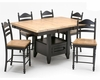 Intercon Bar Set w/ Based Table Hillside Village INHV-4866GI-SET