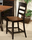 Intercon Bar Stool Winchester IN-WN-BS-289W-BHN-K24 (Set of 2)