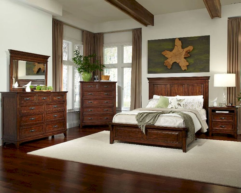 intercon bedroom set star valley insr br 6260set