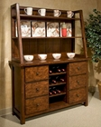 Intercon Buffet and Hutch Bench Creek IN-BK-CA-5216-5618-BRN
