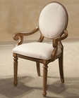 Intercon Cameo Back Arm Chair La Rive IN-LR-CH-680CA-BAL (Set of 2)