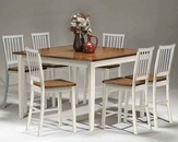 Intercon Counter Height Dining Set INAR5454GSET
