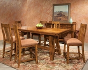 Intercon Counter Height Dining Set Timberline IN-TL-TA-3684G-SAD-SET