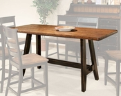 Intercon Counter Height Dining Table Winchester IN-WN-TA-3678G-BHN-TAB