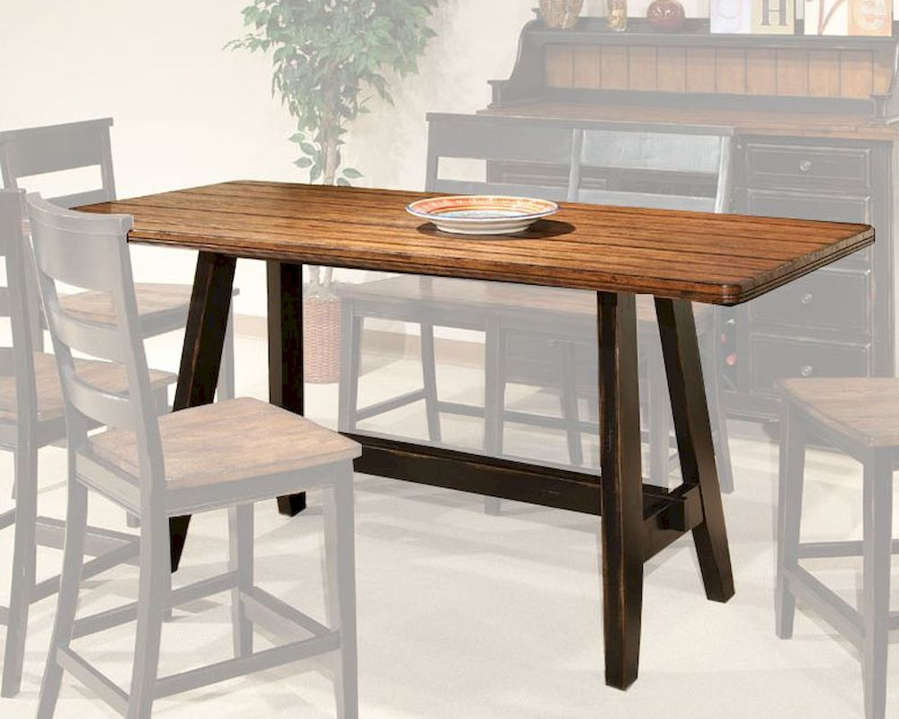 Intercon counter height dining table winchester in wn ta 3678g bhn tab Counter height dining table