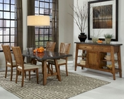 Intercon Dining Room Set Lucca INLU-TA-4272-RBS-C-SET