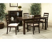 Intercon Dining Set Lifestyle INLI-TA-3654B-MDA-SET