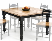 Intercon Dining Square Table Hillside Village INHV-5454-TAB