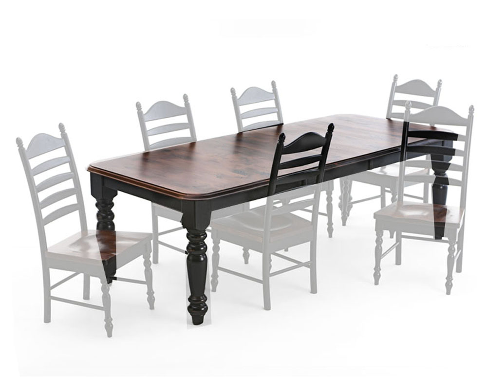 Intercon Dining Table 24in Leaf Hillside Village Inhv