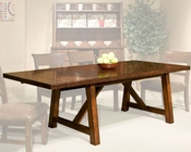 Intercon Dining Table Bench Creek IN-BK-TA-40104-RPN-TAB