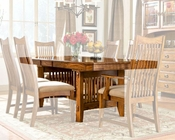 Intercon Dining Table Pasadena Revival INPR-42106-MBN-TAB