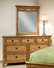 Intercon Dresser and Mirror Alta IN-AL-BR-5307-5391-BAS-C