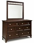 Intercon Dresser and Mirror Hayden INHY590791