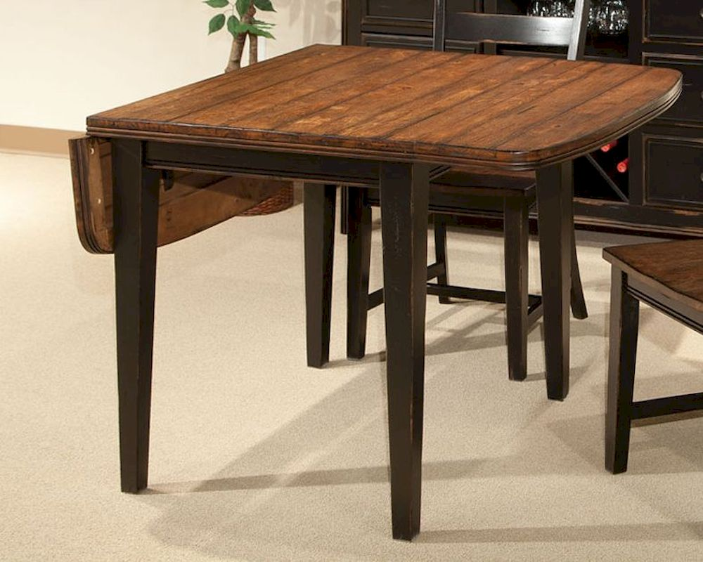 Intercon drop leaf dining table winchester in wn ta 3650d for Drop leaf dining table