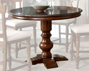 Intercon Gather Pedestal Table Luciano INLC-TA-4848G-TBS