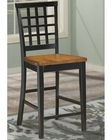 Intercon Lattice Back Bar Stool Arlington INARBS185 (Set of 2)