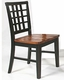 Intercon Lattice Back Side Chair Arlington INAR185 (Set of 2)