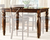 Intercon Mango Wood Counter Height Dining Table Kingston INKG5454GTAB