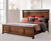 Intercon Panel Bed Wolf Creek INWK-BR-6160BED
