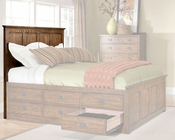 Intercon Panel Headboard Oak Park IN-OP-BR-5850