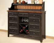 Intercon Sideboard and Hutch Winchester IN-WN-CA-5815-5715-BHN
