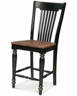 Intercon Slat Back Counter Stool Gramercy Park INGPBS1275W (Set of 2)