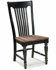 Intercon Slat Back Side Chair Gramercy Park INGPCH1275W (Set of 2)