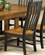 Intercon Slat Back Side Chair Rustic Mission INRMCHN360 (Set of 2)