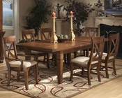 *Intercon Solid Birch Dining Set Verona INVC4692SET