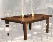 *Intercon Solid Birch Dining Table Verona INVC4692TAB