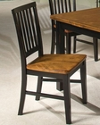 Intercon Solid Hardwood Dining Side Chair Siena INSNCH180 (Set of 2)