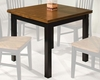 Intercon Solid Hardwood Dining Table Siena INSN3664TAB