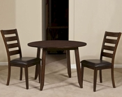 Intercon Solid Mango Wood Dinette Set Kona INKA4242DSET