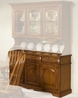"Intercon Solid Oak 60"" Buffet Classic Oak INCO3050B"