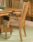 Intercon Solid Oak Arm Chair Highland Park INHPN460A (Set of 2)