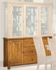 Intercon Solid Oak Buffet Highland Park INHP6034