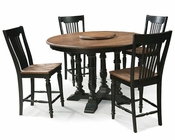 Intercon Solid Oak Counter Height Dining Set INGP5454GSET