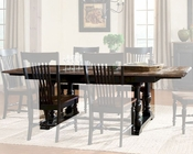 Intercon Solid Oak Dining Table Gramercy Park INGP4296TAB